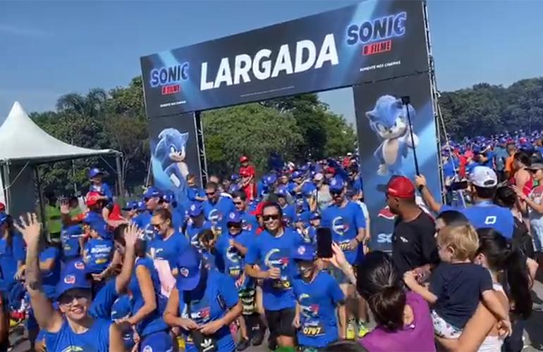 Sonic Run 5K –  Confira como foi o evento realizado neste domingo (16) em SP!