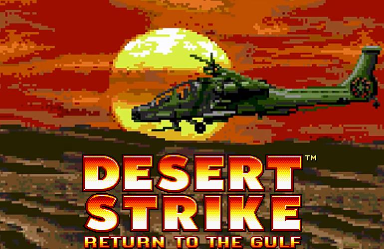 Desert Strike - Muita Ação e Estratégia no seu Mega Drive! - Blog TecToy