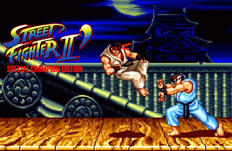 Street Fighter II: Special Champion Edition – A Edição dos Campeões faz sua estreia no Mega Drive!